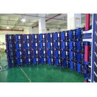 China SMD2121 P4..81 Standard 500x500mm die cast aluminum cabinet  indoor full color Haning led display wholesale