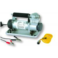 Quality Metal 12v DC Vehicle Air Compressors With Battery Clip For Car Tire Heavy Duty for sale