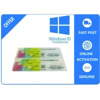China 1703 Version System Data Genuine Windows 10 Pro Oem / Coa Sticker /  Fpp Multilingual Version wholesale
