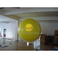 China Yellow Full Digital Printed Sport Tennis Ball Balloons with 170mm Tether Points for Party wholesale
