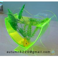 China FT (7)-2 Popular heart shaped acrylic fish tank wholesale