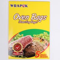China Eco-friendly Heat Resistant Clear Plastic Oven Turkey Bread Cooking Bags wholesale