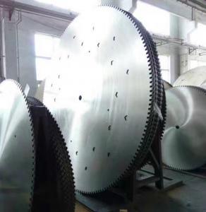 China Quarry cutting dia 3000mm diamond circular saw blank and steel core on sale