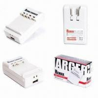 China USB Desktop Battery Chargers for Sony Ericsson, Nokia, HTC, Samsung and Blackberry wholesale