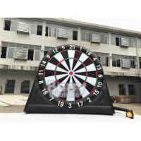 China Outdoor Inflatable Interactive Games Customized Giant Dart Board Football Darts wholesale