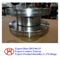 China Hastelloy C276 UNS N10276 2.4819 WN SO Blind flange forging disc ring wholesale