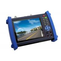 China 7Inch HD SDI CCTV Tester , Digital Multimeter TDR Cable Tester wholesale