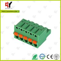 China 10A - 15A Pluggable Terminal Block Universal Connector Wire Range 28-12 AWG wholesale