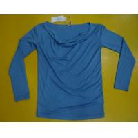 China Fitness Women'S Modal Tops , Fashion Women'S V Neck Long Sleeve T Shirts wholesale