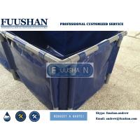 China Fuushan High Quality Plastic Aquaculture Round Fish Pond, Folded Circular Fish Pond on sale