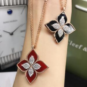 China fashion jewelry wholesale 18k Diamond Necklace brand jewelry stores wholesale