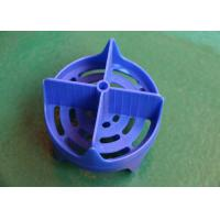 Buy cheap Blue Plastic Injection Molded Parts Design ABS High speed Multi cavity from wholesalers