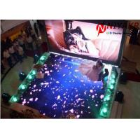 China Interactive P6.25 LED Dance Floor Lights Portable Disco Floor 25600 Dots/m2 on sale