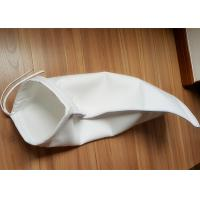 Quality Anti Static Filter Polyester / PP / Nylon Liquid Filter Bag , ISO 1mm Thickness for sale