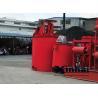 Quality High Efficiency liquid mixer Agitating Tank , Leaching Agitator Tank for sale