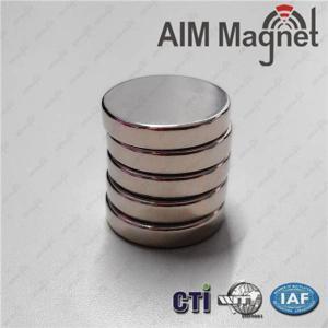 China Strong N42 Round Neodymium Magnet wholesale