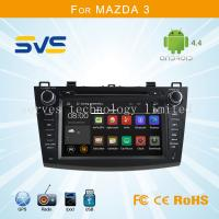 China Android 4.4 car dvd player GPS navigation for Mazda 3 2010-2012 with bluetooth/usb/sd/3g wholesale