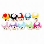 China 3 Inches 10-color Mario Plush Toys for Super Mario wholesale
