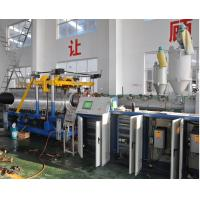 China HDPE / PP Double Wall Corrugated Pipe Extrusion Line High Output on sale