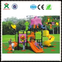 China Outdoor playground safety surfacing rubber playground surface QX-050A on sale