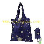 China Dark Blue Star Printing Shopping Bag Reuseable Bag wholesale