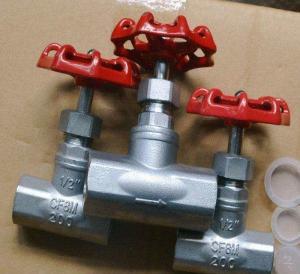 China Water Wcb / Cf8 / Cf8m/Thread End Globe Valve/SS globe valve/BS Standard Stainless Steel Globe Valve/SS valve on sale