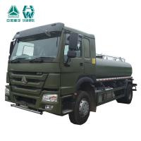 China Manual Transmission Stainless Steel Water Trucks , Water Truck Equipment wholesale