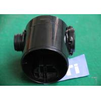 China Black PC / ABS Injection Molded Parts Product Design , Custom Plastic Parts wholesale
