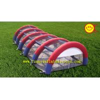China Clear Tarpaulin Huge Inflatable Sport Archway / Bow Party Tent For Outdoor Events wholesale