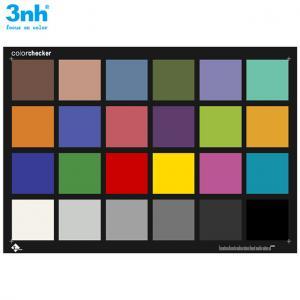 China Xrite Color Checker Passport Resolution Test Chart 3nh 24 Colors Colorchecker Color Card wholesale