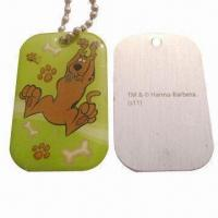 China Epoxy tinplate dog tag wholesale
