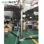 China 10m lockable pneumatic telescopic mast 50kg payloads- mobile antenna telecom pneumatic telescopic mast tower wholesale