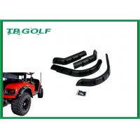 China 4x Front Rear Golf Cart Fender Flares For EZGO Models Hardware Included wholesale