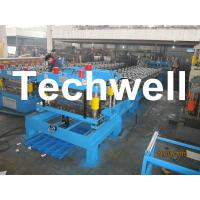 China Steel Metal Roof Tile Cold Roll Forming Machine For Roof Cladding, Wall Cladding wholesale