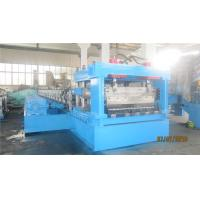 Buy cheap 2 - 4mm Thickness Culvert Sheet Metal Roll Forming Machine With Track Cutting from wholesalers