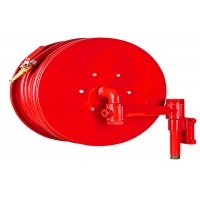 China 30m Synthetic Rubber 1.2mpa Manual Fire Hose Reel wholesale