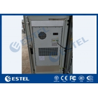 China IP55 Galvanized Steel Outdoor Telecom Cabinet With Front & Rear Access wholesale