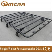 China No Frame Car Roof Rack Basket For Luggage Cargo With Aluminum Or Steel Material wholesale