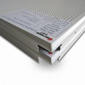 Metal Ceiling Panel,  Clip-in Aluminum Ceiling
