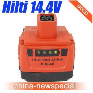 China HILTI 14.4V 2.6Ah Lithiu-Ion B144/2.6 LI-ION Battery used Good Price! wholesale
