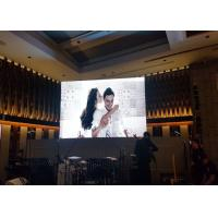 China SMD2121 P4 Indoor Full Color Led Display 110-220V AC Wide Viewing Angle wholesale