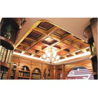 China Tin Texture 3D Ceiling Tile European Style Wallpaper Light Weight and Eco friendly 600*600 mm wholesale