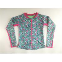 China Tropical Women Active Outer Shirt Polyester Rib Neck Contrasted Zip Raglan Sleeve on sale