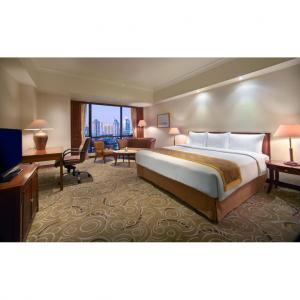 China Three Star Hotel Bedroom Furniture Sets Oak , Ash , Cherry Veneer on sale