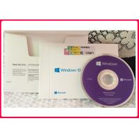 Buy cheap 64 Bit Windows 10 Pro Retail Box Package OEM COA Internet Activation from wholesalers