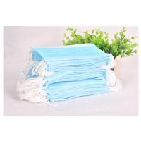China Blue Disposable Mask Personal Safety Non Woven Face Mask For Beauty Salon wholesale