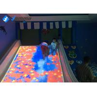 China Indoor Interactive Projector Games Slide Playground For Kids 3.0×2.2m 220V on sale