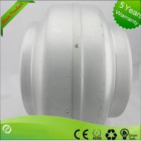 China 220V Inline Circular Duct Fan For Supermarkets / Stations , Strong Corrosion Resistance wholesale