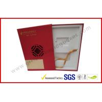 China Square Business Gift Packaging Boxes Drawer Style with EVA Foam Packing wholesale