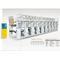 China Color Register System Flexo Gravure Printing Machine For Continuous Multi Color Printing wholesale